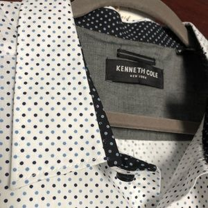 Kenneth Cole Button up short-sleeve